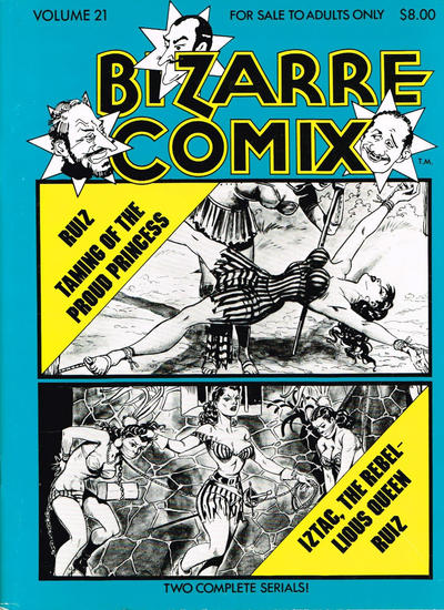 Gcd Cover Bizarre Comix 21 Taming Of The Proud